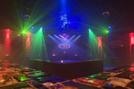 chauvet lights set the mood for ybor city night club