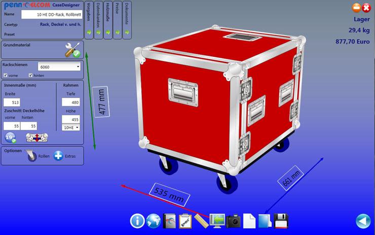Penn Elcom Launches New Casedesigner Software Lightsoundjournal Com