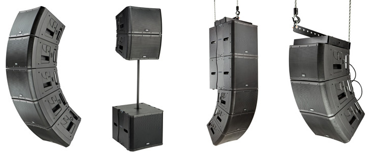qsc introduces kla line array loudspeakers. Black Bedroom Furniture Sets. Home Design Ideas