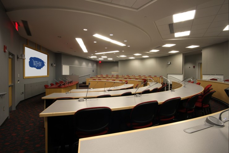 Bosch DCN Next Generation LightSoundJournalcom - Half circle conference table