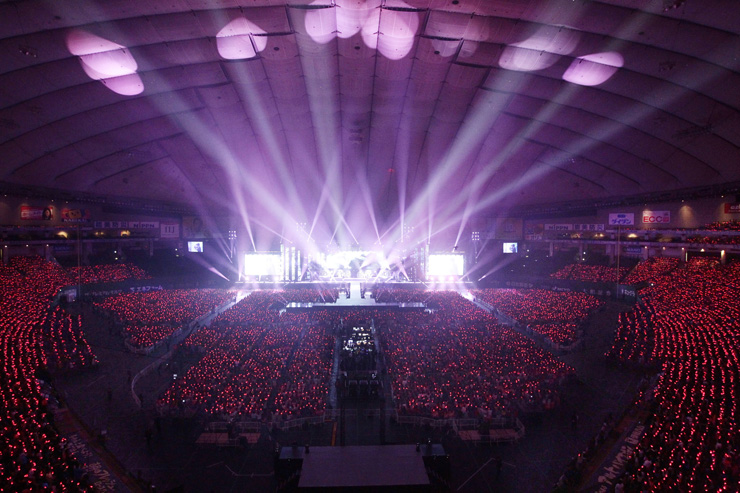 No delays for martin audio mla at tokyo dome for Japan dome house cost