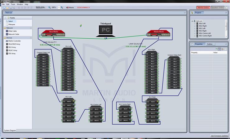 martin audio releases new vu net mla control software
