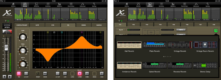 behringer launches xicontrol version 2 0 ipad app for x32. Black Bedroom Furniture Sets. Home Design Ideas