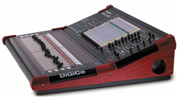 DiGiCo SD9 side
