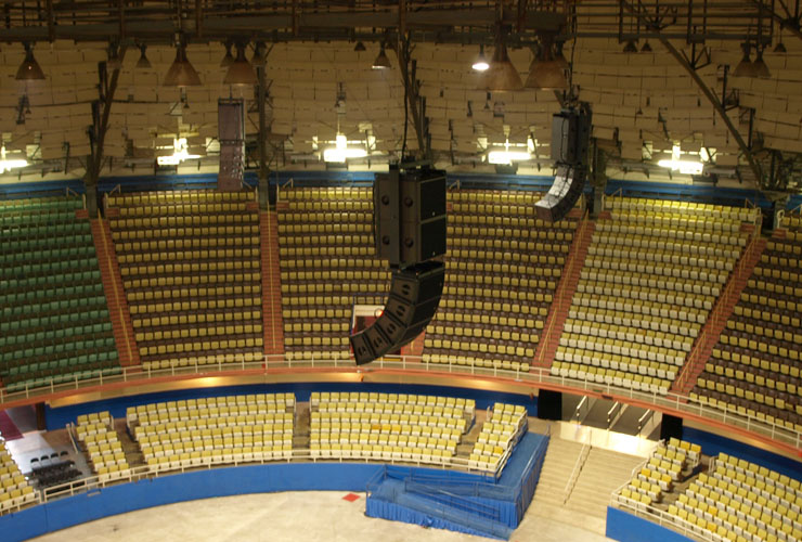Freeman Coliseum Finds Its Sonic Focus With L Acoustics
