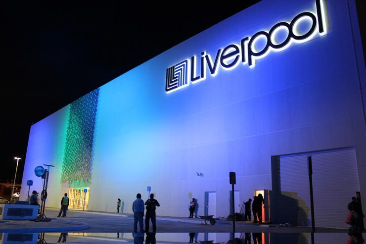 Pr Lighting Xpar 390 Creates Drama For Liverpool Puebla