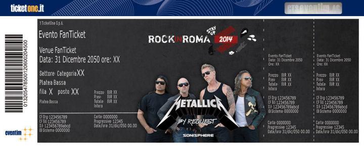 Fanticket Metallica