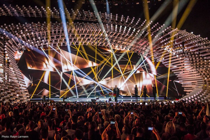 Osram Clay Paky Eurovision Song Contest 2015