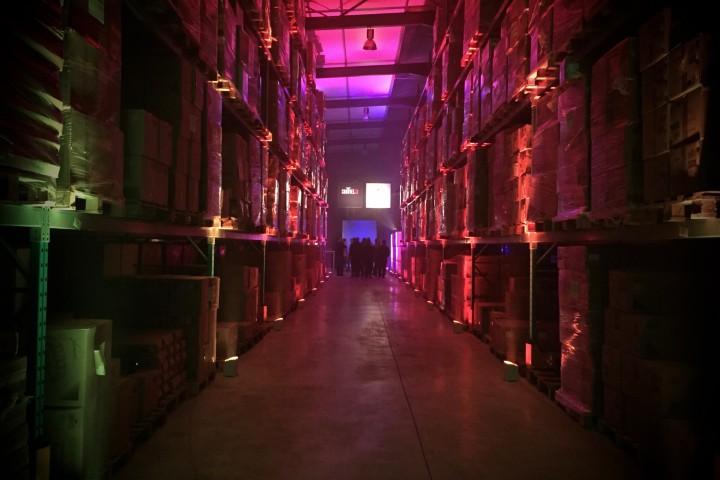 Chauvet Warehouse European HQ Launch ZioGiorgio