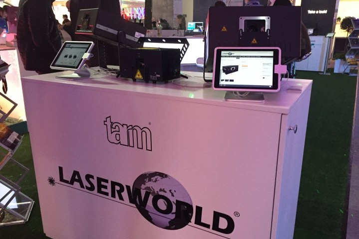 Laserworld PLS2016 tarm