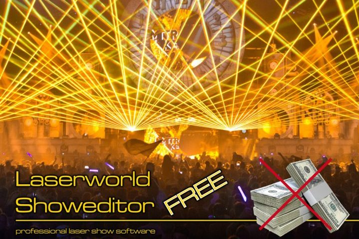 Laserworld Showeditor Free Edition