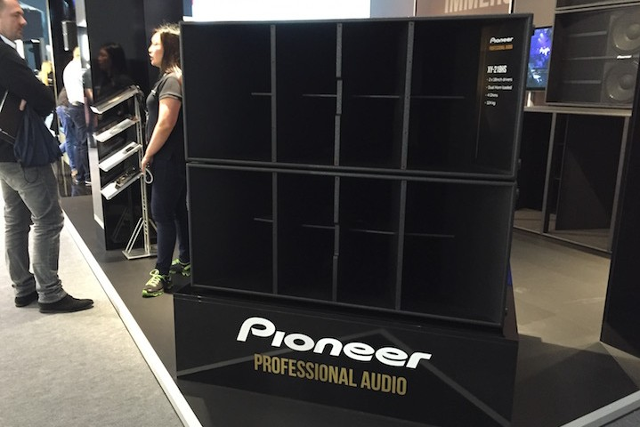 Pioneer Professional Audio PLS2016 XY-218HS