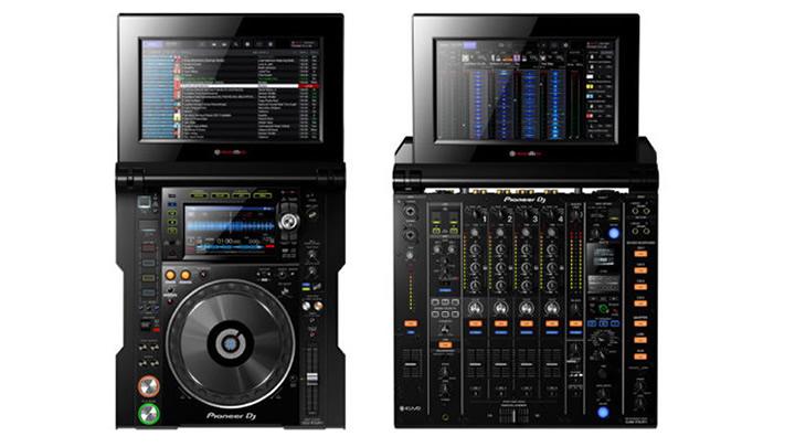 Pioneer Pro Audio Tour CDJ-TOUR1 DJM-TOUR1