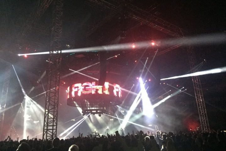 Prolyte Support Muse Drones Tour