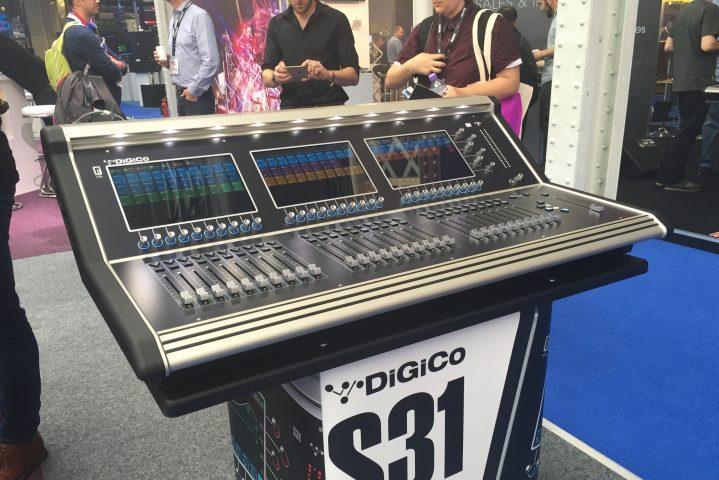 PLASA Show 2016 ZioGiorgio DiGiCo S31