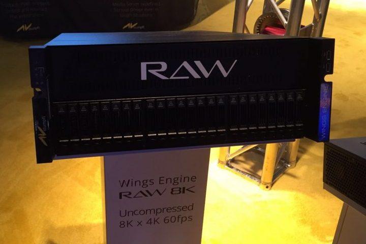 AV Stumpfl Wings Engine RAW 8K LDI 2016