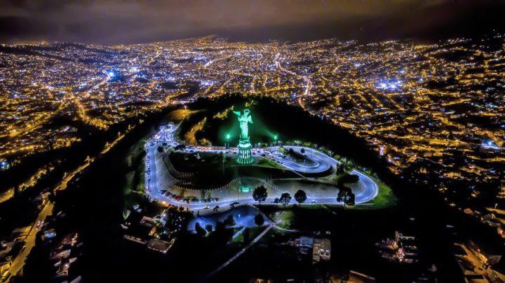 DTS, Designed To Shine, Ecuador, Quito, Panecillo's Virgin, DELTA 12 FC, Salotec Luminoplastia
