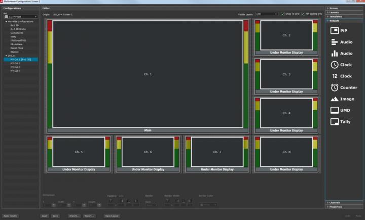 Riedel MediorNet MultiViewer App