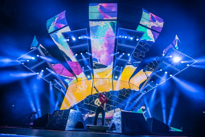 Claypaky Mythos Ed Sheeran Divide World Tour Mythos2 Scenius Unico