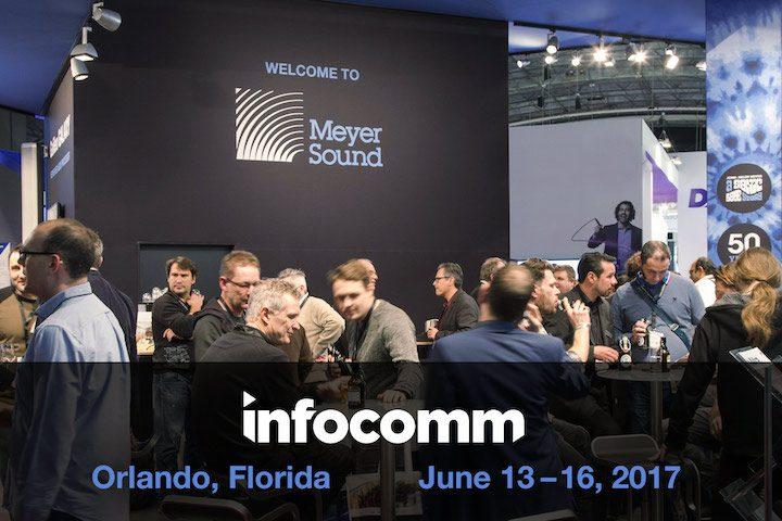 Meyer Sound InfoComm 2017 LINA LFC-750