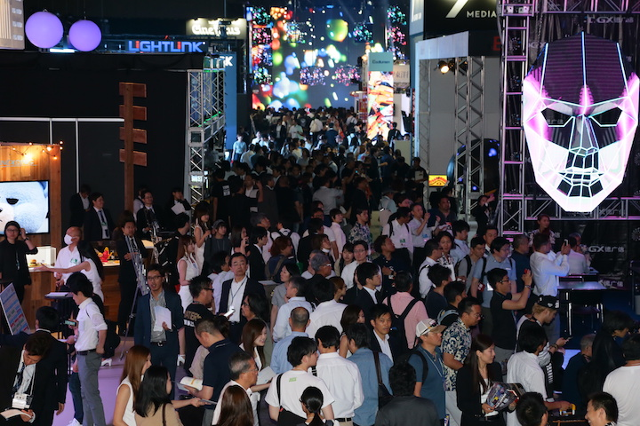 Pro Expo Communication Stands Amp Events : Show report live entertainment expo tokyo