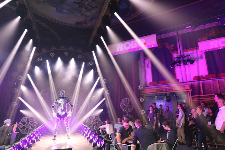 Robe MegaPointe PLASA Show 2017