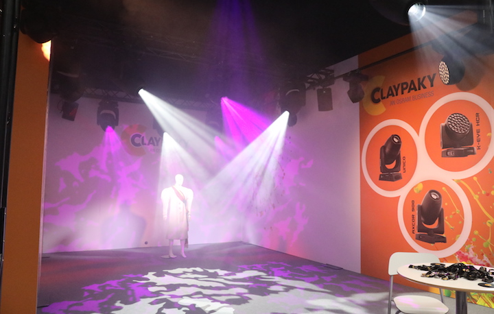 Claypaky Axcor Profile 900 PLASA Show 2017
