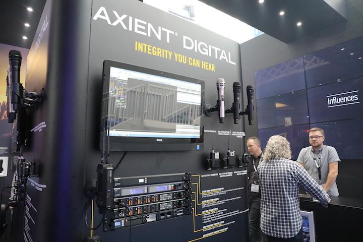 Shure Axient Digital PLASA 2017