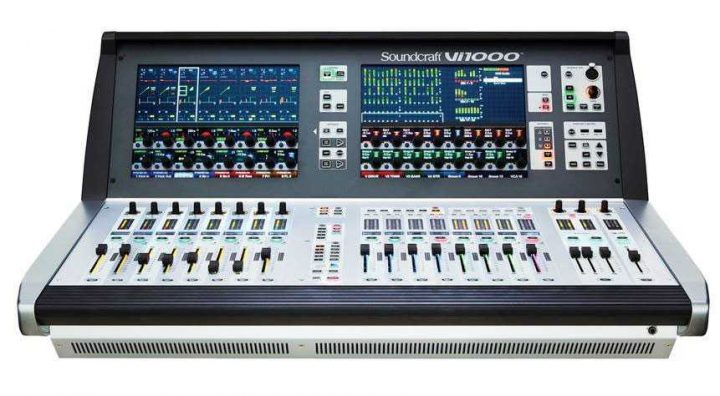 Soundcraft Vi1000 PLASA 2017