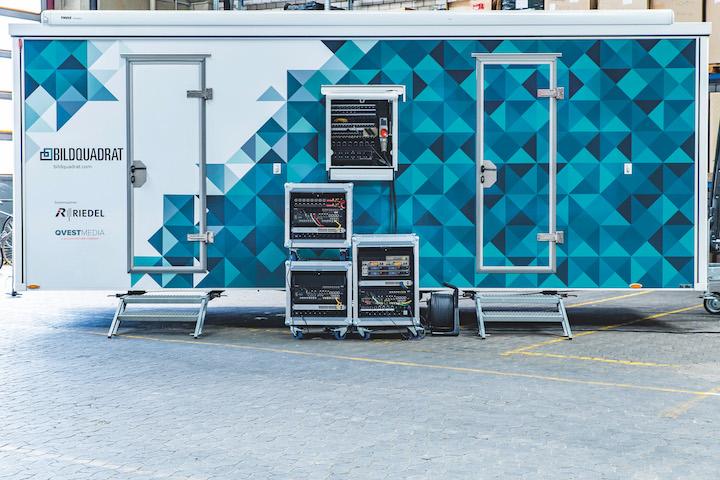 Riedel Bildquadrat OB Vehicle MediorNet