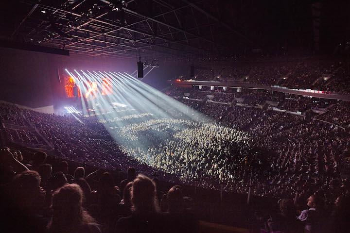Coda Audio Royal Arena Copenhagen AiRAY