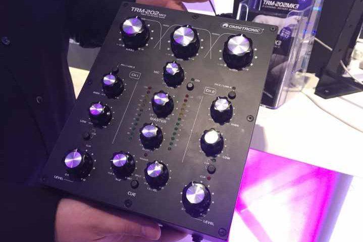 Omnitronic TRM-202 MK3 Rotary Mixer Review Steinigke