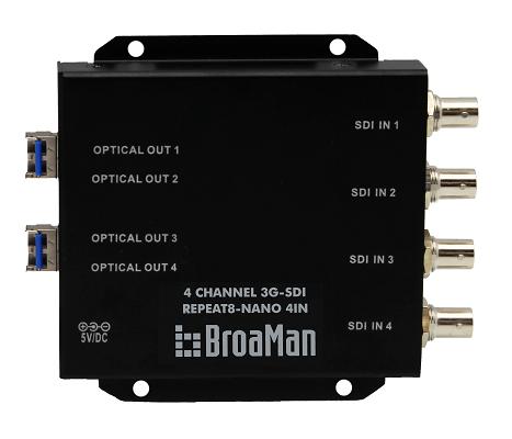 BroaMan IBC Launch of Repeat8-NANO