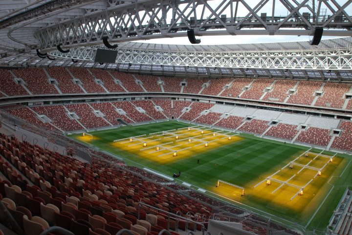 Optocore BroaMan Moscow FIFA World Cup Luzhniki Stadium