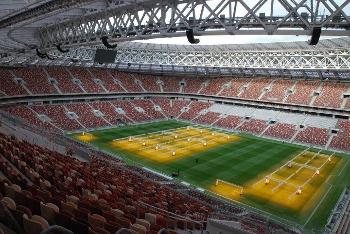 Optocore BroaMan Moscow FIFA World Cup Luzhniki Stadium