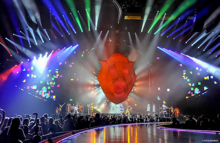 Katy Perry Witness: The Tour Claypaky Scenius