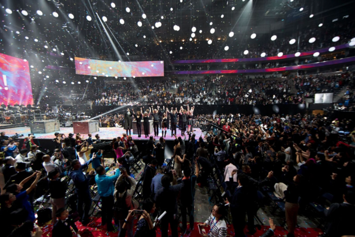 "Claypaky Lighting Fixtures Support Huge ""Nu Skin global LIVE!"""