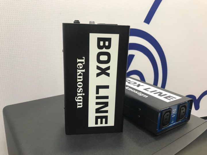NAMM 2018 Teknosign Box Line