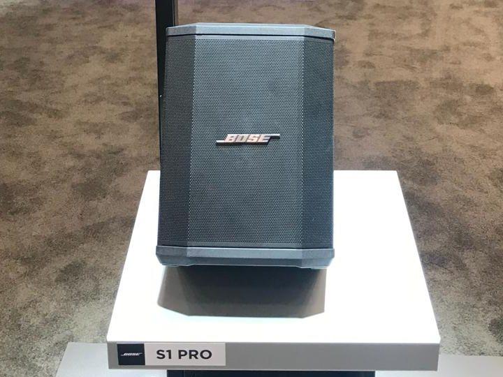 NAMM 2018 Bose Professional S1 Pro ToneMatch T4S T8S