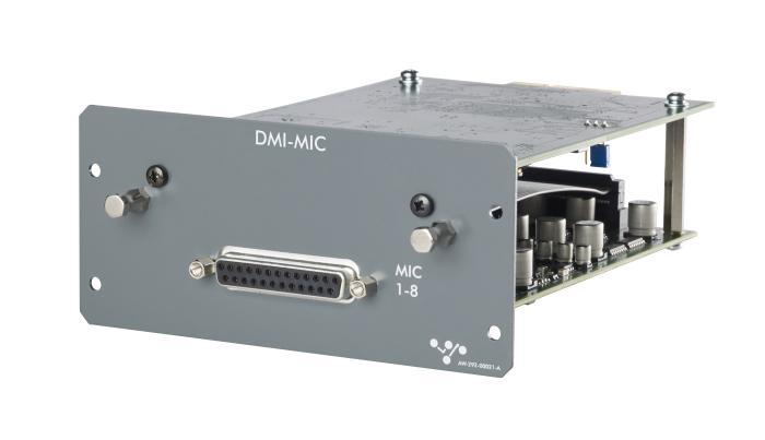 NAMM 2018 DiGiCo DMI-MIC Card S12 S31 S-series