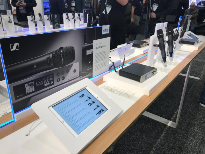 NAMM 2018 Sennheiser Neumann U67 Evolution Wireless G4