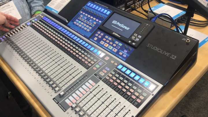 NAMM 2018 PreSonus StudioLive 32 Series III