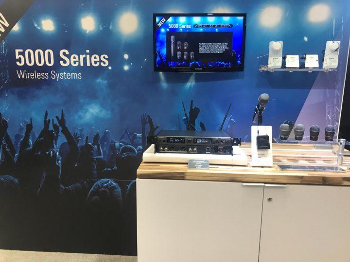 NAMM 2018 Audio Technica 5000 Series