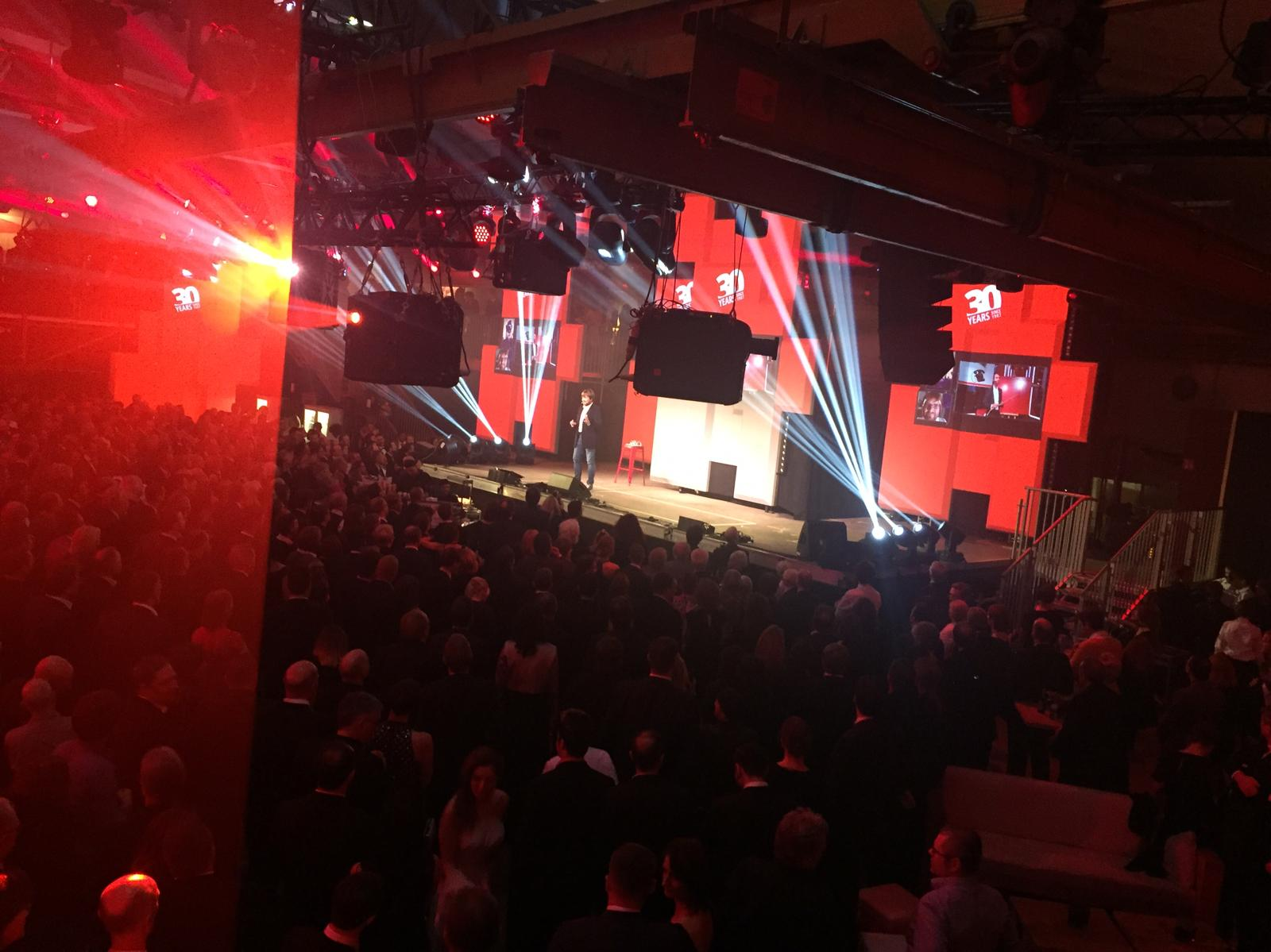 Riedel 30th Anniversary Party Space