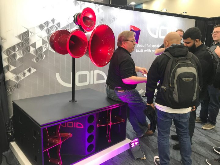 NAMM 2018 Void Acoustics