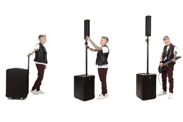RCF's EVOX Alters the Landscape of Portable PA