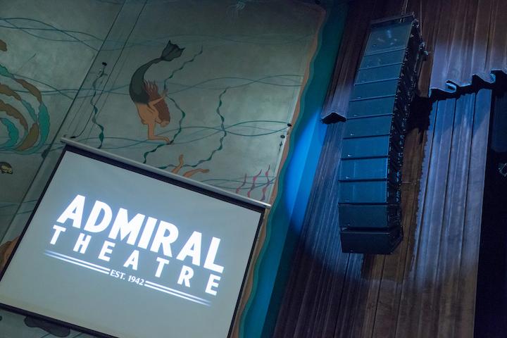 Admiral Theatre Meyer Sound LEOPARD