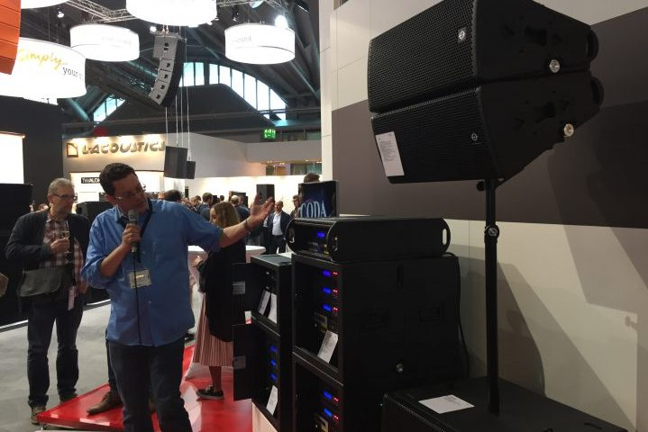 Prolight & Sound, PL&S 2017, Audio Report Coda Audio APS