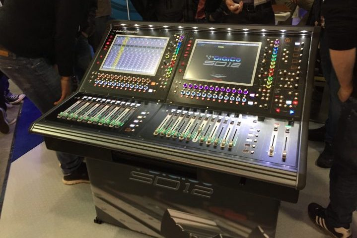 Prolight & Sound, PL&S 2017, Audio Report DiGiCo SD12