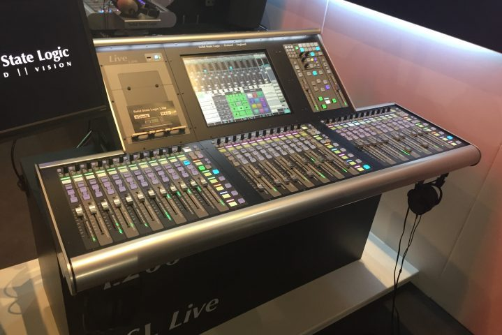 Prolight & Sound, PL&S 2017, Audio Report SSL Live 200
